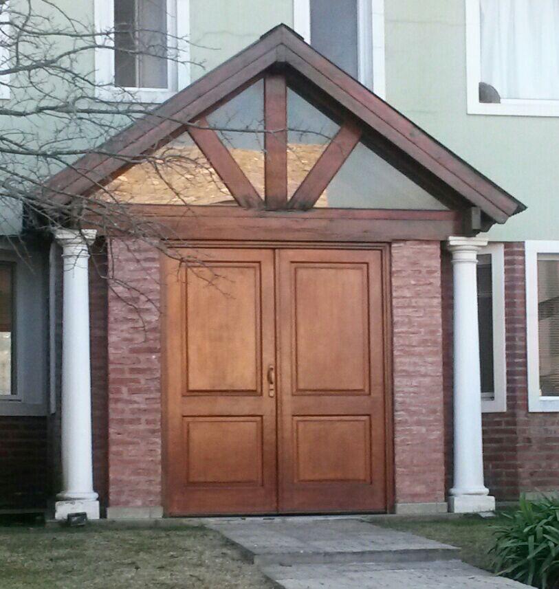 Art puerta doble recta extra porch - Puertas para porches ...